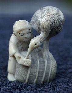 Netsuke en ivoire