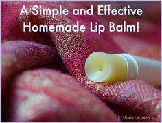 This lip balm recipe