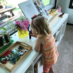 Natural exploration with toddlers and preschoolers