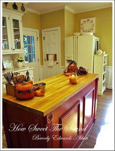 Autumn Kitchen Island