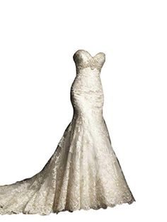 [tps_header]Sweetheart wedding dresses keep being among the most popular bridal dress types, they are the most stunning of the strapless ones. My faves are mermaid sweetheart gowns, there just can't be anything more g...