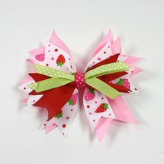 Layered Spike Bow