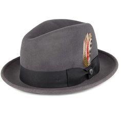 d32dba1aad4 Jaxon   James Crushable Blues Trilby Hat - Grey from Village Hats.