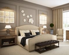 A Few Decorating Ideas For The Master Bedroom | Taupe, Master Bedroom And  Bedrooms