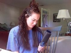 When you realize you shouldn't have tried to straighten your hair, but it's too late to turn back… | 31 Problems Only People With Curly Hair Will Understand