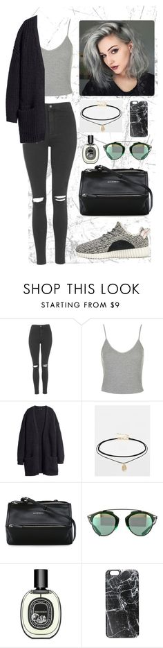 """everyday"" by triayunia on Polyvore featuring Topshop, H&M, ASOS, adidas Originals, Givenchy, Diptyque, Casetify, women's clothing, women's fashion and women"