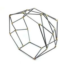 Jewelry Edition | Square Market SARAH WEST-USA-steel, brass Bracelet