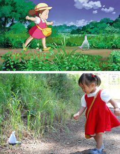 Mei Cosplay Totoro | ... una trajecito de Mei (personaje también de la película de Totoro