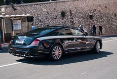 2-door Maybach 57S Coupe