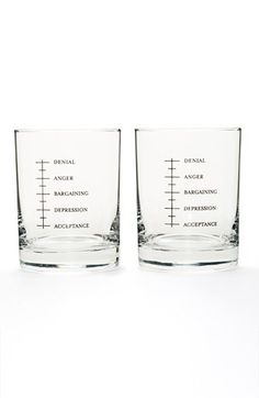 Set Editions 'Good Grief' Shot Glasses (Set of 2) available at #Nordstrom The story of my life.....