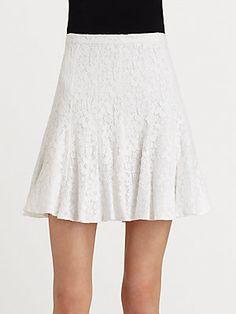 BCBGMAXAZRIA Quinnie Lace Skirt