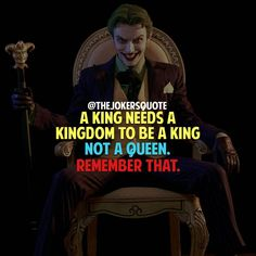 Remember that . . . Must Follow @TheJokersQuote @TheJokerSayings For Daily Motivation And Inspirational Quotes #quote #villain #inspiration #motivation #motivational #business #boss #joker #thejoker #jokerfans #jokerlife #jokerlover #whysoserious #jokerquotes #jokerquote #jokerquotesarethebest #kingofgotham #jaredleto #insanity #anarchy #dcvillain