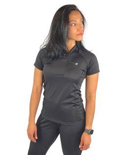 Black Tops, Black And Grey, Scrubs Outfit, Black Scrubs, Athletic Looks, Womens Scrubs, Nursing Clothes, Joggers Womens, Scrub Pants