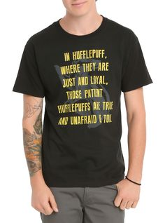 Harry Potter Hufflepuff Sorting T-Shirt | Hot Topic