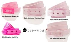 Pink! Is our passion:) Belt for fashion by Tie-Ups www.tie-ups.it/en