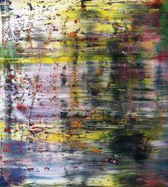 Gerhard Richter Abstract Oil