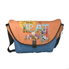 Olaf I Love the Heat Courier Bag