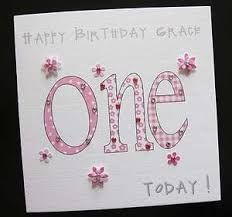 Image result for 1st birthday card ideas to make