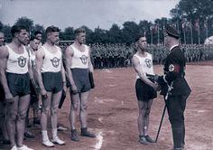 Himmler giving some kind of reward to his elite