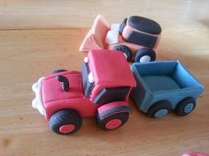 Fondant tractors
