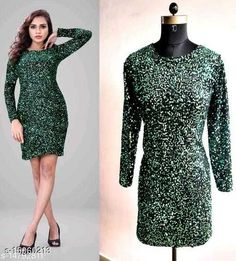 Dresses Fancy Women Sequin Dresses Fabric: Velvet Sizes: XL (Bust Size: 42 in)  L (Bust Size: 40 in)  M (Bust Size: 38 in)  Country of Origin: India Sizes Available: XS, S, M, L, XL, XXL   Catalog Rating: ★4.2 (748)  Catalog Name: Fancy Women Sequin Dresses CatalogID_2999464 C79-SC1025 Code: 995-15060213-4491