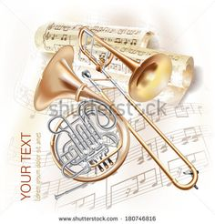 Image result for trombones and french horns