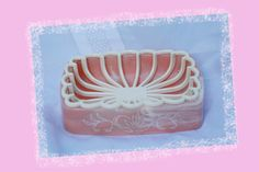 Retro Pink Soap Dish 1960s Bathroom Decore by AbateArts on Etsy, $1.80