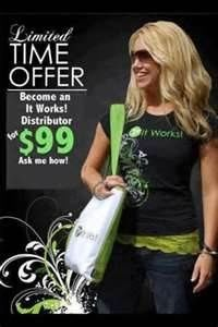 It Works Global and the It Works body wrap. Get on the crazy train with that crazy wrap thing. It has worked for me and it could work for you. Contact me at renewalbeth.myitworks.com. Check it out, host a party and wrap for free, sign up as a loyal customer and save, or join my team and make some extra cash I can help you get your sexy back!