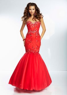 prom dress from Paparazzi by Mori Lee Style 95039 Beaded Lace and Tulle Mermaid Prom Gown.