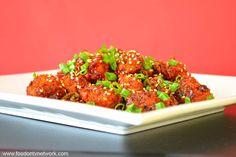 Home Made Manchurian Recipe in Hindi.