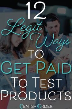 12 Legit Ways to Get Paid to Test Products in 2019 Ways To Earn Money, Make Money From Home, Money Tips, Money Saving Tips, Way To Make Money, Make Money Online, Quick Money, Paid Product Testing, Online Work From Home