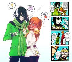 Ulquiorra & Orihime!! Valentine! So kawaii!!!