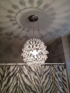 DIY Crystal Chandelier