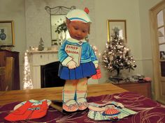cut out dolly goes to school