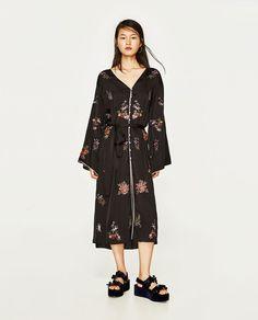 ZARA - WOMAN - EMBROIDERED DRESS