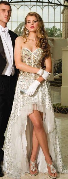 Gossip Girl level prom dress