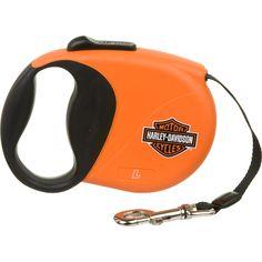 Harley-Davidson 16' Retractable Lead, small.  Regular price is $34.99