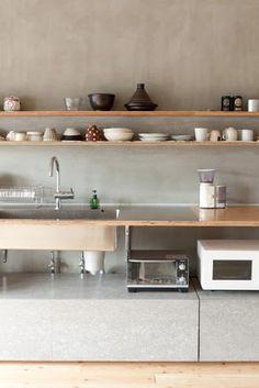 Naruse Inokuma Architects . Hiroko Caribe flat . setagaya