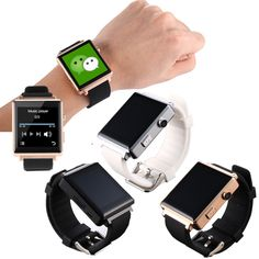 >> Click to Buy << Bluetooth Wrist Smart Watch Support SIM/TF Card Pedometer Sleep Monitoring Tracker For Android Smartwatch #Affiliate