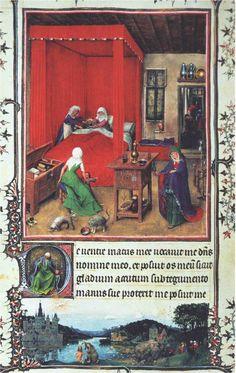Jan Van Eyck Nascita del battista