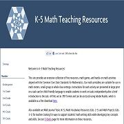 Free math resources, templates and recording paper for K-5 classrooms