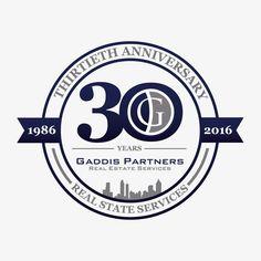 Gaddis Partners needs a 30 year Celebration logo by Lordzilla Vidal