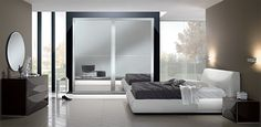 Upholstered Italian Bed / Bedroom Miro 05 by SPAR - $2,699.00