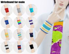 [Wristband for male]
