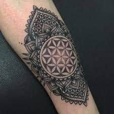 51 Best Flower Of Life Tattoo Images In 2018 Flower Of Life Tattoo