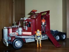 M.A.S.K toys from the 80s - Rhino with Bruce Sato and Matt Trakker
