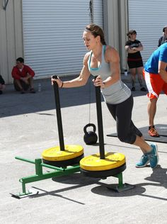 I heart prowlers...feels like pushing a jogging stroller up a huge hill.