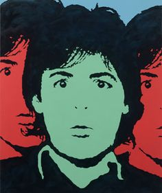 Paul McCartney by Martin Torsleff Oil and acrylic on canvas.  www.pop-art.dk