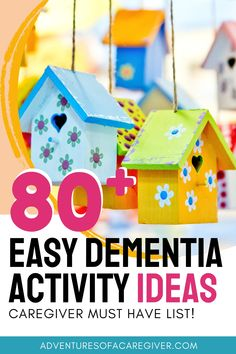 Giant List of Stimulating Alzheimer's and Dementia Activities