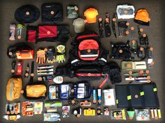 Everything that goes with me on a Search & Rescue. When a call comes out for a lost person you don't have time to get yourself ready and pack! My SAR pack is ready to go 24/7 and has everything needed to sustain myself for 72 hours - if needed. Below is the inventory of the pack!  1. Coaxsher SR-1 Endeavor Search and Rescue Pack 2. Coaxsher RCP-1 Pro Radio Chest Harness 3. Insect Repellant – (quick access in chest harness) 4. Gerber Suspension Multitool (quick access in chest harness) 5…